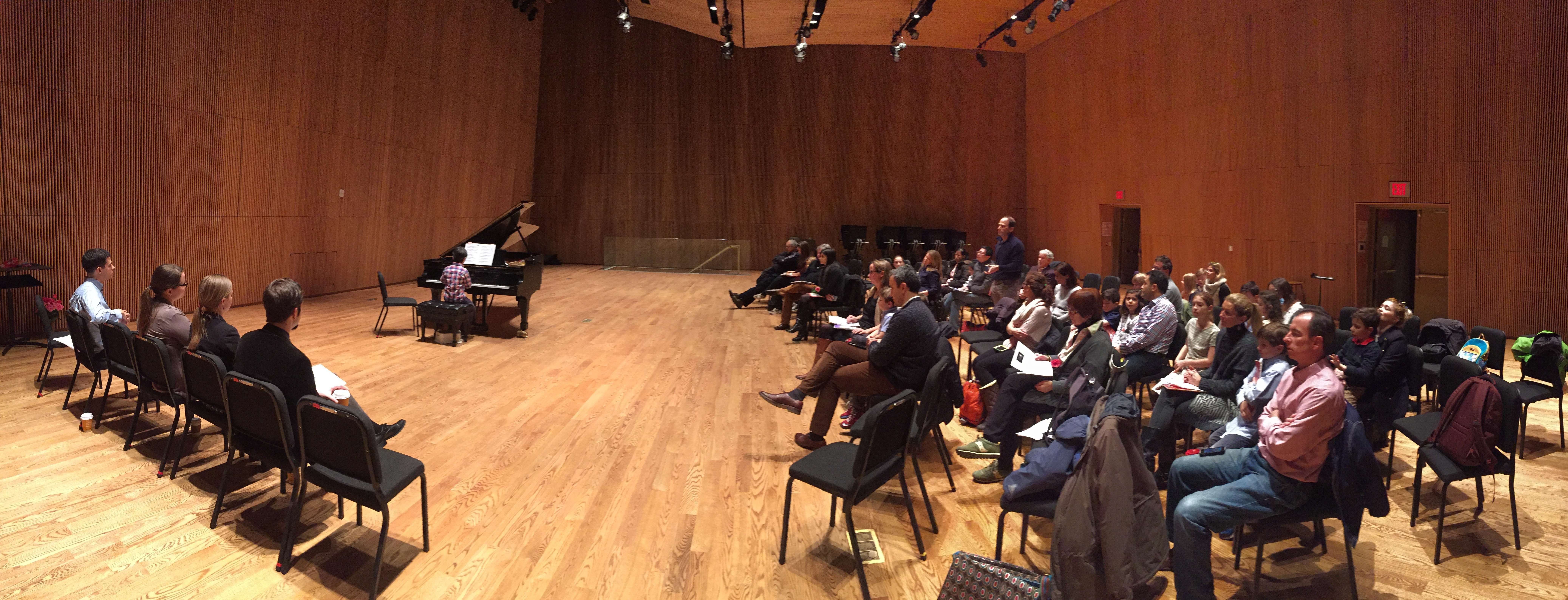 Piano Recital for students of our music studio in NYC